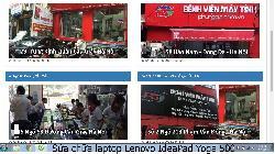 Phùng Gia chuyên sửa chữa laptop Lenovo IdeaPad Yoga 500 lỗi bị xé hình