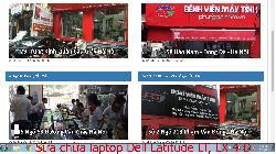 Chuyên sửa chữa laptop Dell Latitude LT, LX 4 D, LX 4 DT, LX 4100D T lỗi bị sọc