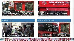 Dịch vụ sửa chữa laptop Toshiba Satellite U205-S5057, U405, U40t, U40T-A102 lỗi laptop không vào được windows